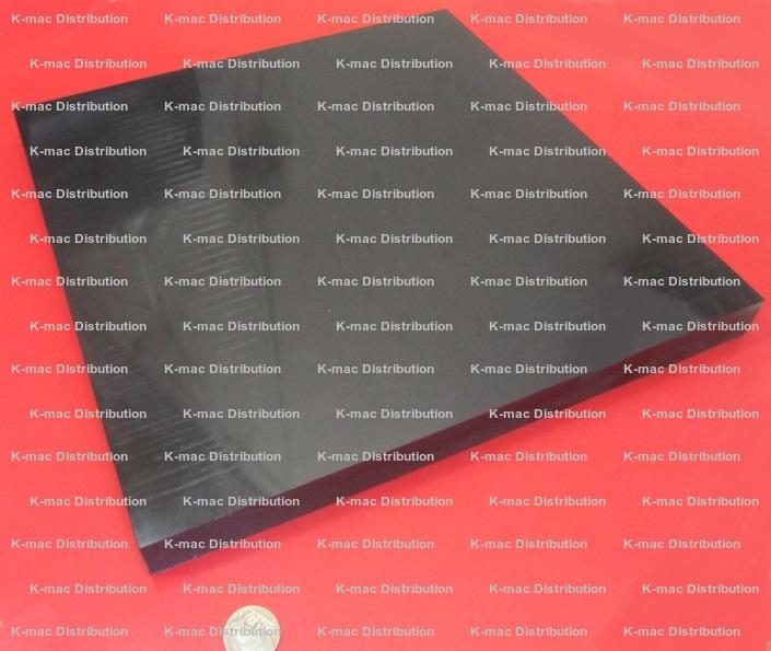 "1//2/"" x 24/"" x 48/"" Red Color High Density Polyethylene HDPE Plastic Sheet .500/"""