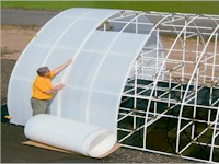 Solex HDPE Greenhouse Glazing