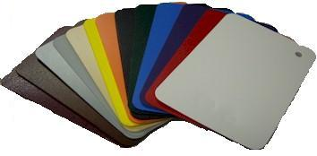 Colored HDPE Plastic Sheets, .015 to .090 inch thickness