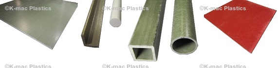 Fiberglass Sheets, Tubes, Angles and Rods