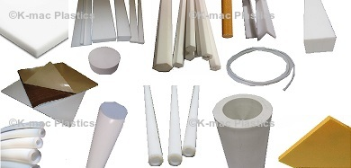 PTFE Sheets, Rods, Tubing