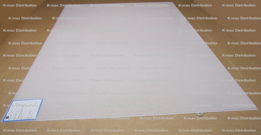 Polypropylene Sheet Perforated Hole 062 To 250 Inch Thick